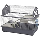 Ferplast Spacieuse cage pour lapins BARN 100 pour petits animaux, style granges...