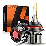 SEALIGHT 9007/HB5 LED Headlight Bulbs, 60W 16000 Lumens Super Bright LED Headlights Conversion Kit...