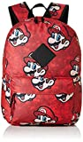 Bioworld - Difuzed Sac À Dos, Mochila Super Mario Sublimacion Unisex Adulto, Rojo (Rouge), 28 cm