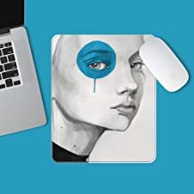 LIUSHI Ultra-Thin Soft Mouse Pad,Portable Durable Mousepad,Lightweight for Comfortably..