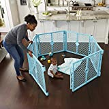 Toddleroo by North States Superyard Indoor-Outdoor Play Yard:...