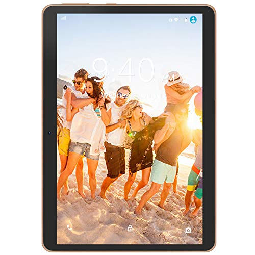 4G LTE Tablet con Display 10' YOTOPT Android 9.0 Tablet PC 64 GB Espandibili, 4 GB RAM, Type-c, GPS...