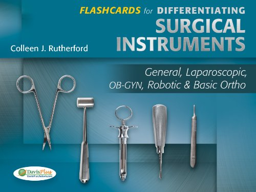 Flashcards For Differentiating Surgical Instruments General, Laparoscopic, OB-GYN, Robotic & Basic Ortho