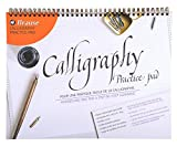 Brause 96450B Bloc de calligraphie d'apprentissage A4 - français/anglais,...