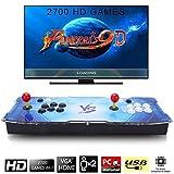 SeeKool Pandora 9D Console de jeux vidéo Arcade, 2700 en 1 Console de jeux...