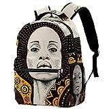 Mochila de viaje de 30,48 cm, duradera mochila escolar para mujeres y niñas, mochila informal (29,2 x 20,3 x 40,64 cm), unicornio y flores