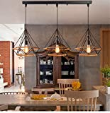Beautiful KFI Simple Nordic rétro créatif personnalité restaurant bar...