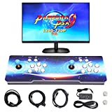 SupYaque Pandora Box Video Arcade Games Console Pandora's Box 9 Built-in 1500 Retro Games,Search Games Function,Favorite List,HDMI VGA USB to Connect with Double Players Control Joystick