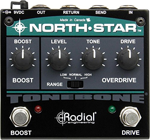 Radial Tonebone North Star overdrive effects pedal