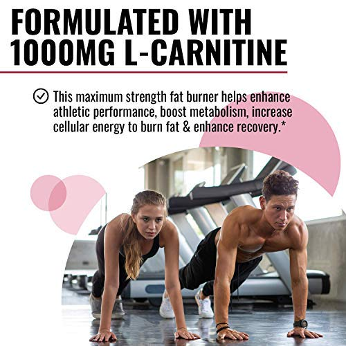 Nobi Nutrition L-Carnitine Fat Burner - Healthier Weight Loss for Women & Men - Diet Pills, Appetite Suppressant, Carb Blocker, Metabolism & Thermogenesis Booster 2