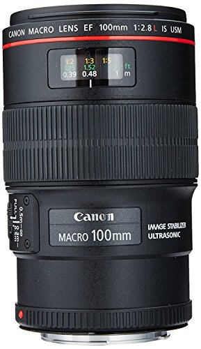 Canon EF 100mm f/2.8L IS USM Macro Lens for Canon Digital SLR...