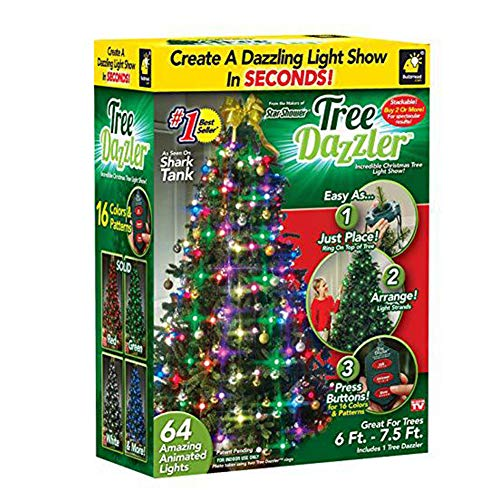 YBG Christmas Lights,64 LED Bulbs Tree Dazzler Led Light Lantern...