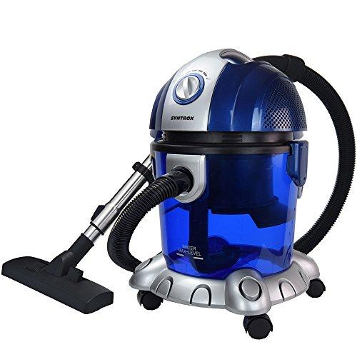 Syntrox Germany WVC-2500W Koios Aspirapolvere con filtro ad acqua, funzionamento da bagnato e...
