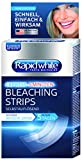 Rapid White Bleaching Strips, sichtbare Zahnaufhellung in nur 5 Tagen, ohne Wasserstoffperoxid, für weißere Zähne, Express-Bleaching für Zuhause