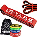 Bionic Flex Pull Up Assistance Band – Premium Dual Layer Pull Up Assist Bands for Strength...