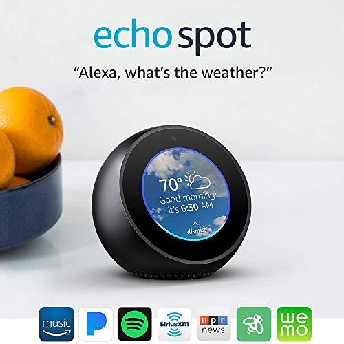 Product Image 22: Echo Spot - Smart Alarm Clock with Alexa - Black