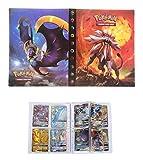 UHIPPO Album for Pokemon GX Mega Gard, Trading Cards Holder Binder, Collectible Card Album, Floder...
