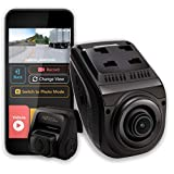 Rexing V1P 3rd Generation Dual 1080p Full HD Front and Rear 170 Degree Wide Angle Wi-Fi Car Dash Cam...