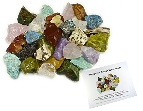 Hypnotic Gems: 3 lbs Hand Bagged 17 Stone Type Madagascar...