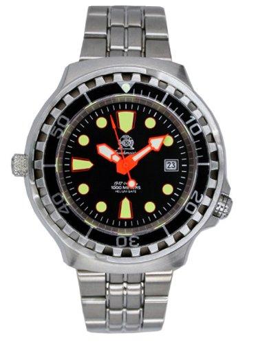 Tauchmeister Automatic, orologio subacqueo 1000 m con valvola di rilascio elio e zaffiro T0264M