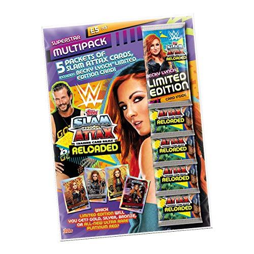 Topps WWE Slam Attax Reloaded 2020 - Multipack Becky Lynch!