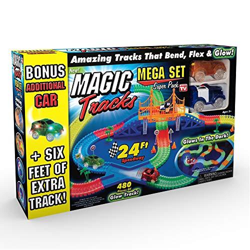 Ontel Products Magic Tracks Mega Super Pack Bonus Set, 3 Led Race...