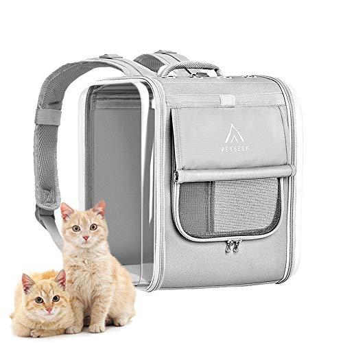 ペットバックパックキャリーバッグ リュックバッグ 宇宙船カプセル型 ペット用品 犬猫用リュックキャリー ...