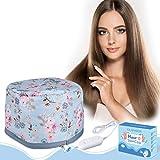 Casques Chauffant Cheveux- GLAMADOR Bonnet Chauffant pour Soins...