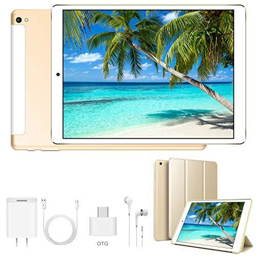 4G Tablet 10.1 Pollici WiFi 32GB ROM 3GB RAM 3 Slot Android 9.0 Quad-Core Batteria 8500mAh Dual SIM...