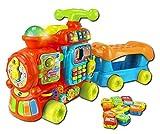 VTech Baby – Push & Ride Alphabet Train – Maxi Trotti Loco 5 en 1 Version Anglaise