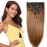 Extension a Clip Cheveux Naturel Maxi Volume - Rajout 100% Cheveux Humain 8...
