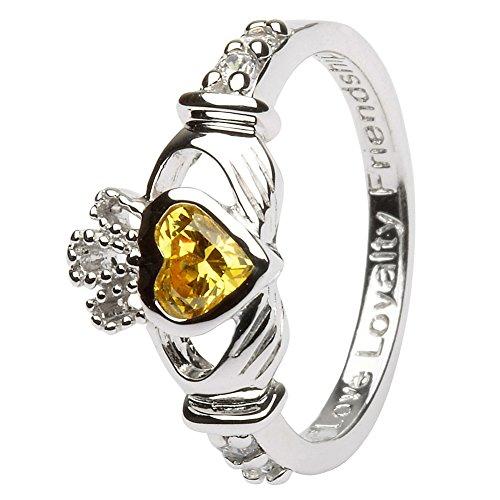 Sterling Silver Claddagh Ring LS-SL90-11