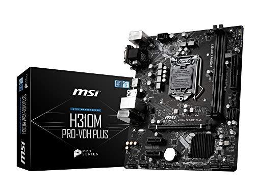 MSI H310M PRO-VDH PLUS M-ATX マザーボード [Intel H310チップセット搭載] MB4697