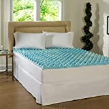 Simmons Beautyrest Comforpedic Loft from Beautyrest 3-inch Big Loft Gel Memory Foam Mattress Topper Queen