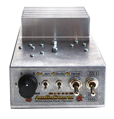 AudioStorm HotBox 125i Inductive Power Attenuator/Brake/Soak for valve/tube guitar amp. (4 ohms)