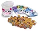 112 monete e 96 banconote FAC-simile Un ottimo strumento didattico Banconote e monete assorite