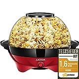 Aicook Machine à Popcorn, Électrique Machine à Pop Corn avec Plateau de Cuisson Détachable,...