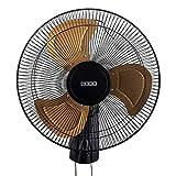 usha Colossus Rust Free Aluminium Blade 400mm Wall Fan (Golden)