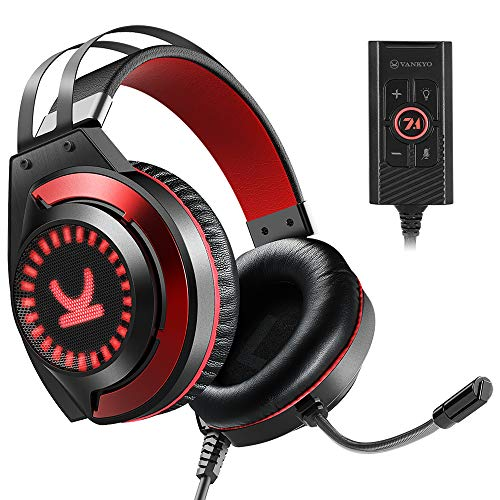 VANKYO Gaming Headset CM7000 with Authentic 7.1 Surround Sound Stereo PS4 Headset, Gaming Headphones...