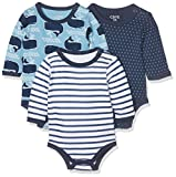 Care - 550132 - Body - lot de 3 - Bébé Garçon - Multicolore (Deep Skye...
