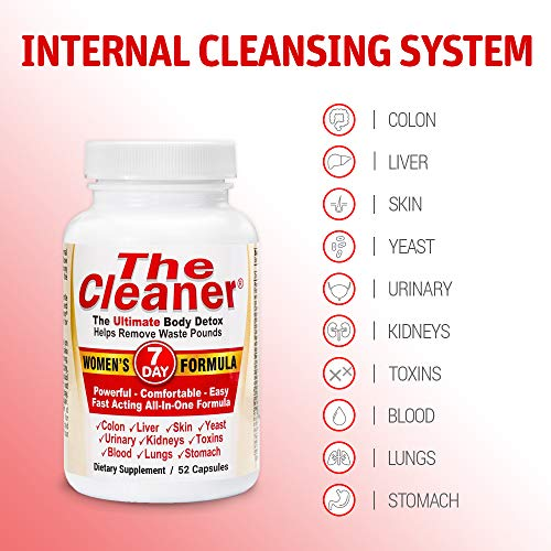 The Cleaner 7Day Women's Formula Ultimate Body Detox (52 Capsules) 3