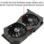ASUS ROG Strix GeForce GTX 1660 Super Advanced 6GB Edition GDDR6 HDMI 2.0 DP 1.4 Gaming Graphics Card (ROG-STRIX…