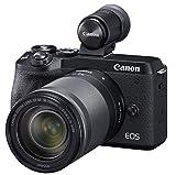 Canon キヤノン ミラーレス一眼  EOSM6 mark2 18-150 IS STM レンズEVFキット ブラック