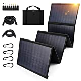 Keshoyal Foldable Solar Panel – 60W Portable...