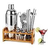 HB life 1 Ensemble Cocktailhaker Coffret Cadeau 15 Acier Inoxydable avec Un...