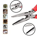 VamPLIERS Best Made Pliers! 7.5' Long Nose Specialty Screw Extraction Pliers for Damage/Stripped/Corroded/Security Screws/Made the Best Gift (1, Retail)
