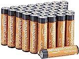 AmazonBasics Piles alcalines AAA 1,5V pour le quotidien - Lot de 36 (le...