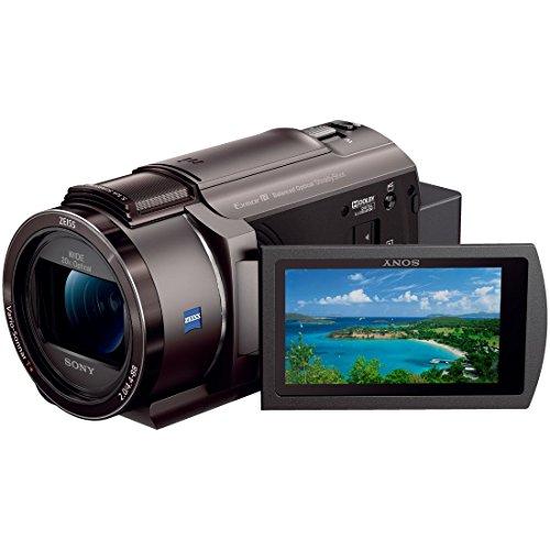 ソニー SONY ビデオカメラ FDR-AX45 4K 64GB 光学20倍 ブロンズブラウン Handycam FDR-AX45 TI