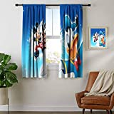 ZhiHdecor Blackout Window Curtain Mickey & Minnie Mouse 17.Jpg Rod Curtain