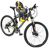 Bicycle Seat for - Kids Child Children Infant Toddler - Front Mount Baby Carrier Seat Bike Carrier USA Safely Standard with Handrail - Great for Adult Bike Attachment